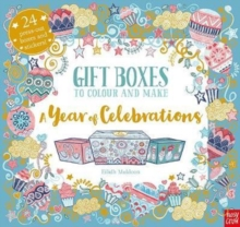 Gift Boxes to Colour and Make: a Year of Celebrations, Paperback Book
