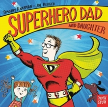 Superhero Dad and Daughter, Board book Book