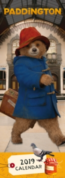 PADDINGTON SLIM CALENDAR 2019,  Book
