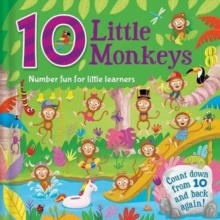 10 Little Monkeys, Hardback Book