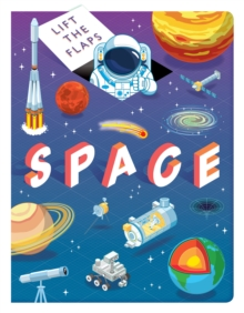 Lift The Flaps: Space, Board book Book