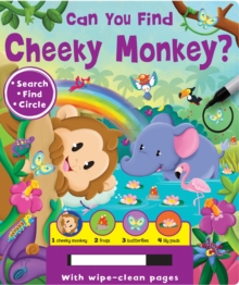 Can You Find? - Cheeky Monkey, Board book Book
