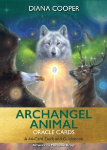 Archangel Animal Oracle Cards : A 44-Card Deck and Guidebook, Cards Book