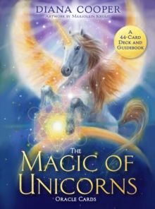 The Magic of Unicorns Oracle Cards : A 44-Card Deck and Guidebook, Cards Book