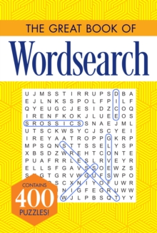 The Great Book of Wordsearch, Paperback / softback Book