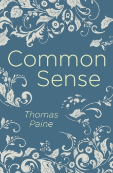 Common Sense, Paperback / softback Book