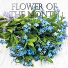 Flower of the Month : 2020 Square Wall Calendar, Paperback / softback Book