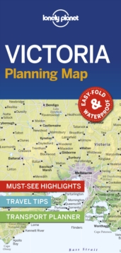 Lonely Planet Victoria Planning Map, Sheet map, folded Book