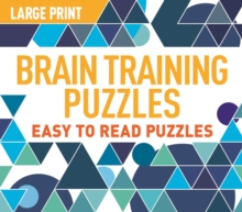 Large Print Brain Training Puzzles, Paperback / softback Book