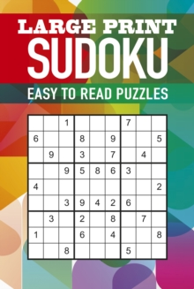 Large Print Sudoku, Spiral bound Book