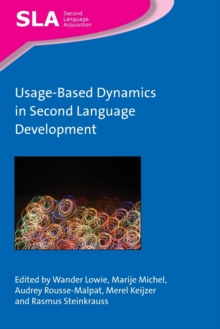 Usage-Based Dynamics in Second Language Development, Paperback / softback Book