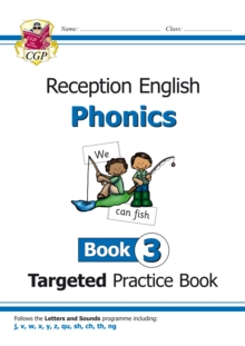 English Targeted Practice Book: Phonics - Reception Book 3, Paperback / softback Book