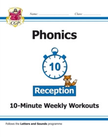 New English 10-Minute Weekly Workouts: Phonics - Reception, Paperback / softback Book