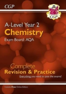 New A-Level Chemistry for 2018: AQA Year 2 Complete Revision & Practice with Online Edition, Paperback / softback Book