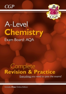 New A-Level Chemistry for 2018: AQA Year 1 & 2 Complete Revision & Practice with Online Edition, Paperback / softback Book