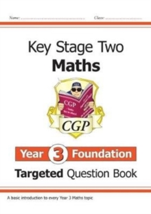 New KS2 Maths Targeted Question Book: Year 3 Foundation, Paperback / softback Book