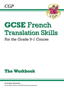 New Grade 9-1 GCSE French Translation Skills Workbook (includes Answers), Paperback / softback Book