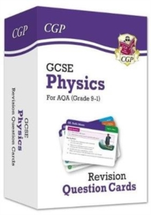 New 9-1 GCSE Physics AQA Revision Question Cards, Mixed media product Book