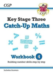 New KS3 Maths Catch-Up Workbook 4 (with Answers), Paperback / softback Book