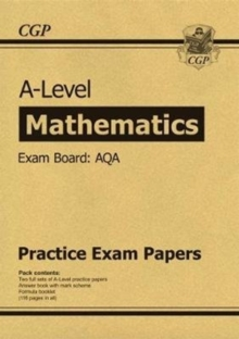 New A-Level Maths AQA Practice Papers (for the exams in 2019), Paperback / softback Book