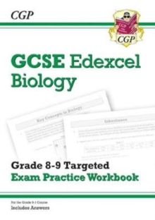 New GCSE Biology Edexcel Grade 8-9 Targeted Exam Practice Workbook (includes Answers), Paperback / softback Book