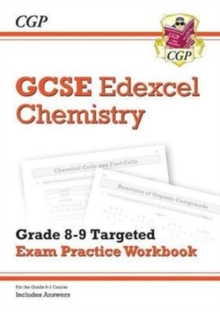 New GCSE Chemistry Edexcel Grade 8-9 Targeted Exam Practice Workbook (includes Answers), Paperback / softback Book