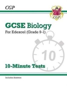 New Grade 9-1 GCSE Biology: Edexcel 10-Minute Tests (with answers), Paperback / softback Book