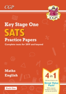 New KS1 Maths and English SATS Practice Papers Pack (for the tests in 2019) - Pack 1, Paperback / softback Book