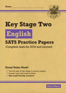 New KS2 English SATS Practice Papers: Pack 3 (for the 2021 tests), Paperback / softback Book