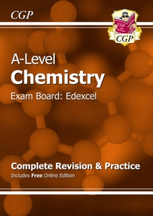 A-Level Chemistry: Edexcel Year 1 & 2 Complete Revision & Practice with Online Edition, Paperback / softback Book