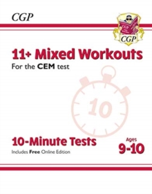 New 11+ CEM 10-Minute Tests: Mixed Workouts - Ages 9-10 (with Online Edition), Paperback / softback Book