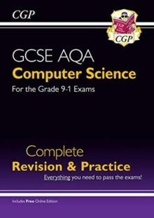 New GCSE Computer Science AQA Complete Revision & Practice - Grade 9-1 (with Online Edition), Paperback / softback Book