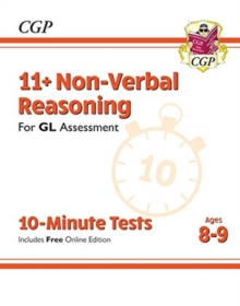 New 11+ GL 10-Minute Tests: Non-Verbal Reasoning - Ages 8-9 (with Online Edition), Paperback / softback Book