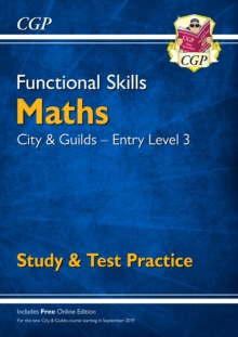 New Functional Skills Maths: City & Guilds Entry Level 3 - Study & Test Practice (for 2019 & beyond), Paperback / softback Book