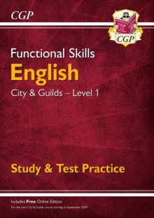 New Functional Skills English: City & Guilds Level 1 - Study & Test Practice (for 2019 & beyond), Paperback / softback Book