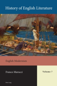 History of English Literature, Volume 7 : English Modernism, Mixed media product Book