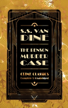 The Benson Murder Case, Hardback Book