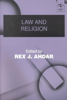 Law and Religion, Paperback / softback Book