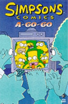 Simpsons Comics A-go-go, Paperback Book