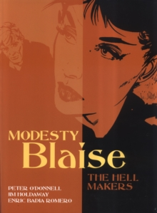 Modesty Blaise - the Hell Makers, Paperback Book