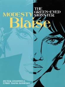 Modesty Blaise - the Green-Eyed Monster, Paperback Book
