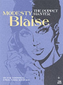 Modesty Blaise - the Puppet Master, Paperback Book