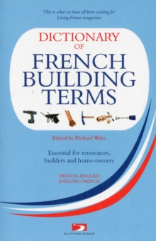 A Dictionary of French Building Terms, Paperback Book