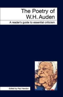 The Poetry of W.H. Auden, Paperback Book