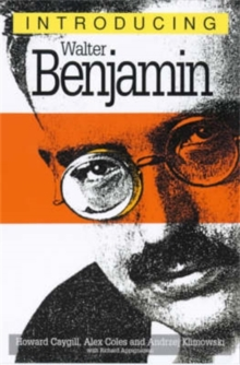 Introducing Walter Benjamin, Paperback / softback Book