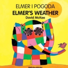 Elmer's Weather (polish-english), Hardback Book