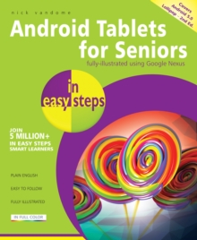 Android Tablets for Seniors in Easy Steps, Paperback Book