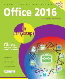 Office 2016 in Easy Steps, Paperback / softback Book