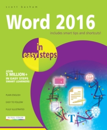 Word 2016 in Easy Steps, Paperback / softback Book
