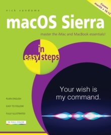 macOS Sierra in easy steps : Covers OS X 10. 12, Paperback Book